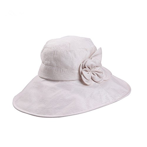 HZH-hat Ms. Summer Sun Hat Outdoor Cover Face Sun visor UV Collapsible Beach Cap