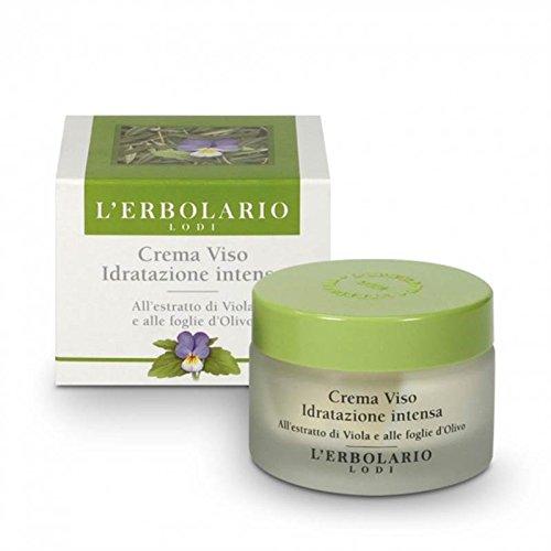 Violet-extrakt (Die Erbolario-Creme Gesicht Hydration Intensive in violett-Extrakt und den Blättern Olivenholz-50ml)