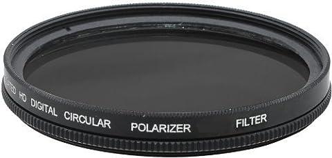 Power^UP 77MM (77 mm) Zirkular-Polfilter CPL Filter für Canon, Carl Zeiss, Fujifilm, Nikon, Panasonic, Pentax, Olympus, Samsung, Sigma, Sony, Tamron, Tokina Objektiv (77mm