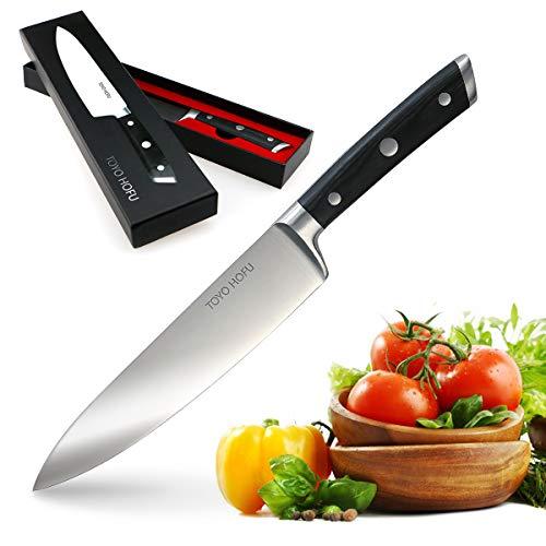 TOYO HOFU Cuchillo cocinero alemán acero inoxidable 1.4116 Antioxidan