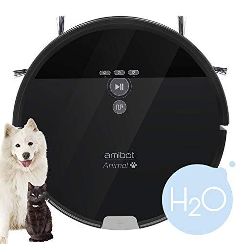 AMIBOT Animal XL H2O - Robot aspirateur et laveur spécial...
