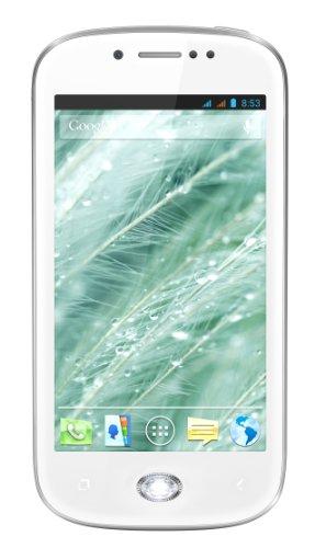 Wiko Sublim made Smartphone with Swarovski Zirconia (10,2 cm IPS, 1 gHz, duplice-Nucleo, 512MB RAM, 4 GB Memoria, 5 MP macchina fotografica, duplice-SIM) Bianco