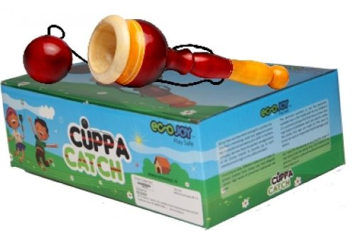 Ecojoy Cuppa Catch Ageless Wooden Toy Green
