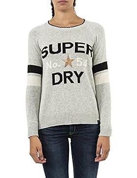 Superdry Jersey Varsity Intarsia Grey