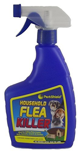 HOUSEHOLD FLEA KILLER FOR PETS, CARPETS, BEDS & HUTCHES (1 BOTTEL) by Unknown