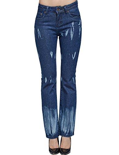 Camii Mia -  Jeans  - flare - Donna Blue 26W x 30L