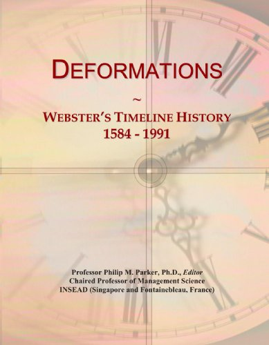 Deformations: Webster's Timeline History, 1584-1991