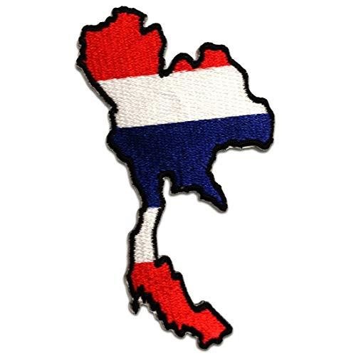 Parches - Tailandia bandera - blanco - 9