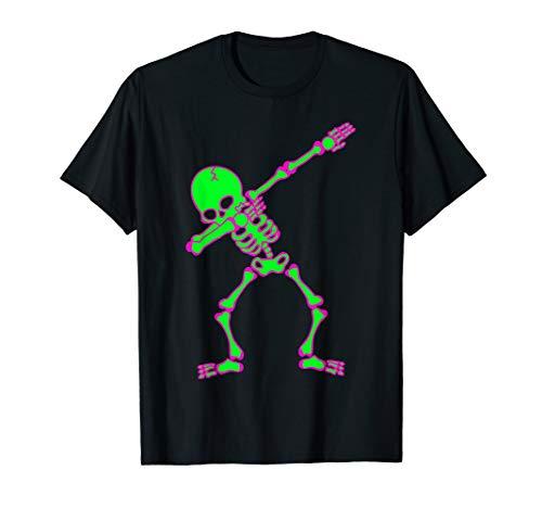 Für Hip Jungen Hop Kostüm - Halloween-Kleidung für Jungen Kinder Dabbing Skelett Kostüm T-Shirt