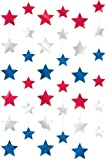 6 Guirlandes verticales Étoiles USA