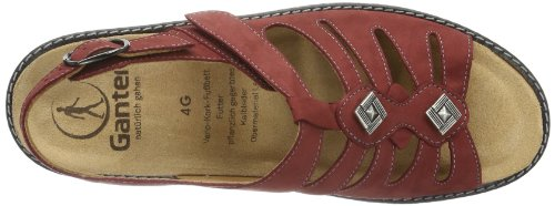 Ganter Gracia, Weite G, a bride femme Rouge - Red - Rot (rubin 9100)