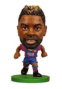 SoccerStarz - Figura con Cabeza móvil Barcelona (F.C. Barcelona 75100)