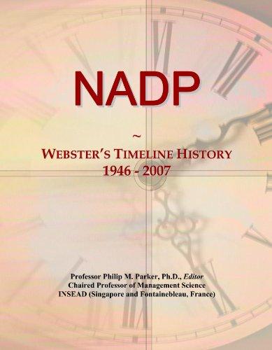 NADP: Webster's Timeline History, 1946-2007