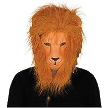 Careta eva león con pelo
