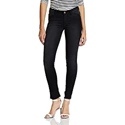 Jealous 21 Women's Slim Jeans (1JY2169126_Black_28)
