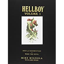 Hellboy Library Volume 1: Seed of Destruction and Wake the Devil (Hellboy (Dark Horse Library))
