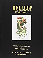 Hellboy Library Edition Volume 1: Seed of Destruction and Wake the Devil: Seed of Destruction and Wake the Devil v. 1 (Hellboy (Dark Horse Library))