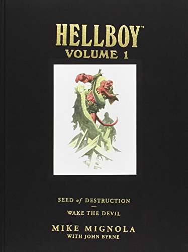 Hellboy: Seed of Destruction and Wake the Devil v. 1 (Hellboy Library Editions 1)