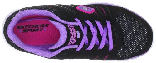 Skechers  Synergy, chaussons d'intérieur fille Noir (Bppk)