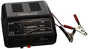 Graupner 6489 - Cargador Turbomat 5 Plus, NiMH, 1-5A