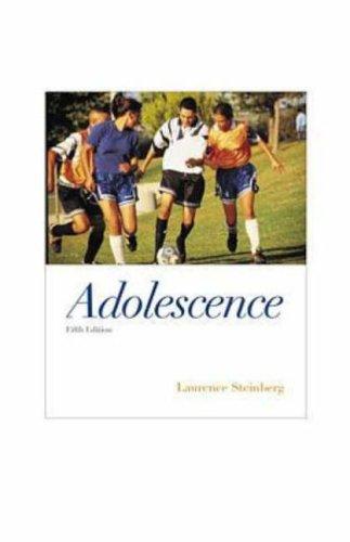 Adolescence Steinberg Pdf
