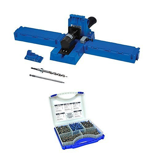 Kreg K5 Pocket-Hole Jig With Sk03 Pocket Hole Screw Kit by Kreg -