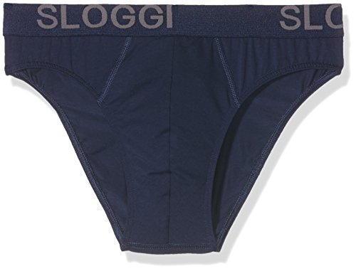 b5997a535aeb Sloggi Men Avenue Mini C2P, Slip Homme, (2 Bleus Marine), 6