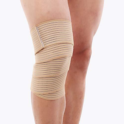 Vommpe Kniebandage zum Schutz vor Sportverletzungen Uniform Code Kniescheibe einfarbig beige
