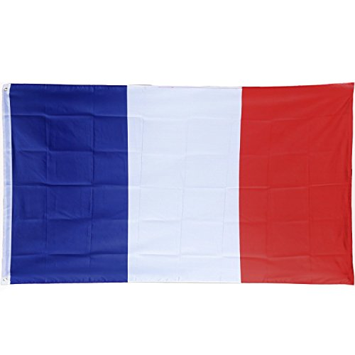 Frankreich Kostüm Land - Trixes Große französische Flagge 5ft x 3ft Frankreich Flagge Bastille Tag
