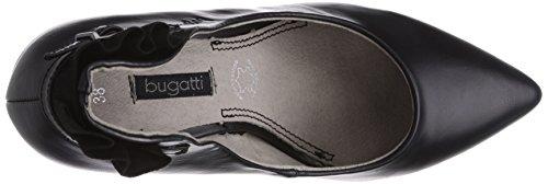 Bugatti W98786n, Chaussures à talons - Avant du pieds couvert femme Noir - Noir
