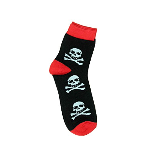 Unisex Mini Socken Totenkopf - Pirat Kurzschaft Sneaker Socken Einheitsgröße