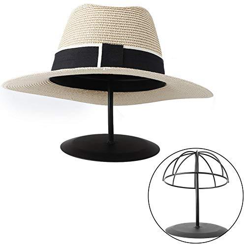 Nannday Hutständer, dekorative hohlkuppelförmige Metallgestell für Kappe Perücke(S)