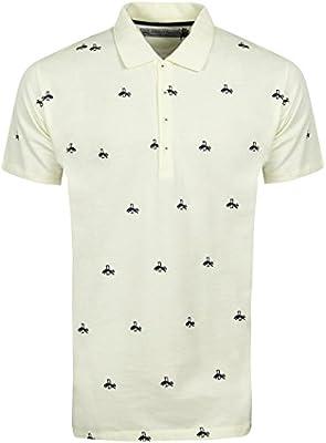 Puma Rudolf Dassler bordado Premium de manga corta Polo camisas