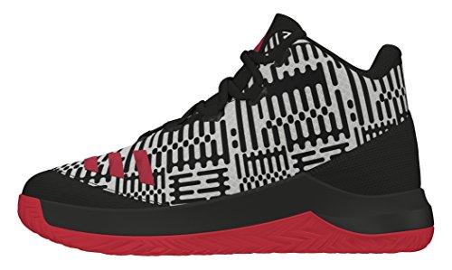 adidas Outrival 2016 K, Espadrilles de Basket-Ball Garçon