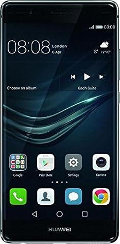 Huawei P9 Smartphone portable débloqué 4G (Ecran: 5,2 pouces - 32 Go - Double Nano-SIM - Android) Bleu