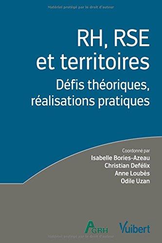 RH, RSE et territoires : Défis théoriques, réalisations pratiques par Isabelle Bories-Azeau