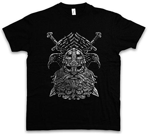 Urban Backwoods Odhin VI T-Shirt - Taglie S - 5XL Nero