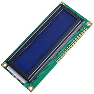 COLEMETER HD44780 1602 16x2 LCD DISPLAY MODULO BLU RETROILLUMINA [Elettronica]