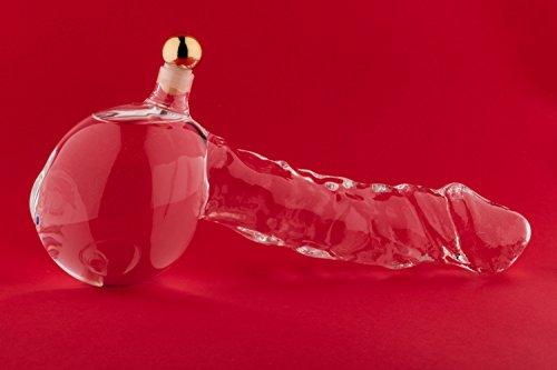 SLK GmbH 1 Unidad 350 ml botella adorno, botella de vidrio vacía sopl