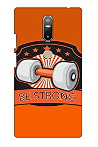 SRS Be Strong 3D Back Cover for Lenovo Phab 2 Plus