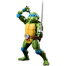 Las Tortugas Ninja - Leonardo figura, 15 cm (Bandai BDITM064503)