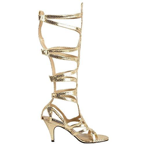 12 Dentro Funtasma Romano Dos Deusa Mattgold Sapatos 6zvXnRvxq