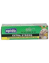 Epido Green 30 Ltrs Biodegradable Garbage Bags - 30 Pcs