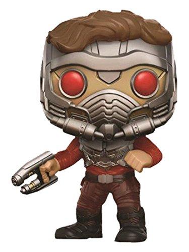 Funko–Guardianes de la Galaxia 2, Figura de Vinilo, 209, Star-Lord con máscara, 9cm, 93270