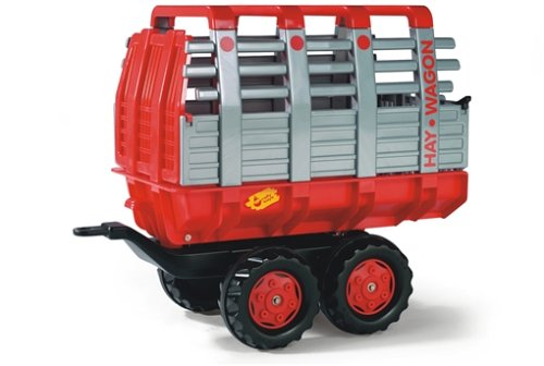 Rolly Toys Anhänger Rolly Toys 122820 - Heuwagen 2-achsig rot, 122820