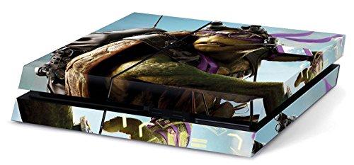 Teenage Mutant Ninja Turtles Hochwertiger Sony PS4 Playstation-Aufkleber/Sticker aus Vinyl (Playstation 4 Ninja Turtle)