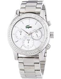 Lacoste Damen-Armbanduhr Charlotte Analog Quarz Edelstahl 2000833