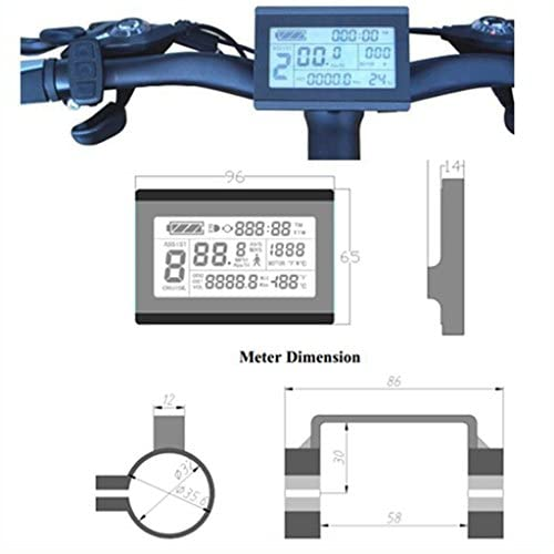 41AGSw2ORWL. SS500  - NBPOWER 48V 1500W 35A Brushless DC Motor Controller Ebike Controller +KT-LCD3 Display One Set,used f