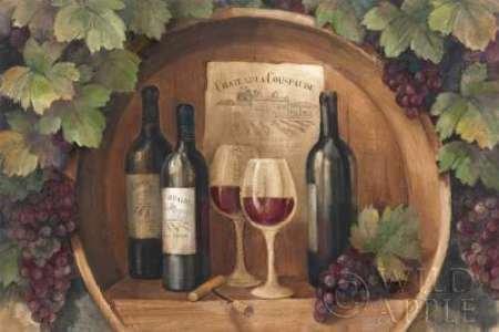 Dekor Küche Weinreben (At the Winery - Wag Von Hristova, Albena Kunstdruck auf Leinwand - Klein (83 x 55 cms ))