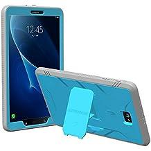 Poetic Revolution Heavy Duty Protección Híbrido Funda con el Protector de pantalla para Samsung Galaxy Tab A 10.1 (2016) Azul/Gris [NO COMPATIBLE CON EL MODELO S-PEN.]